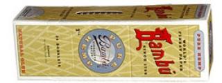 Bambu Pure Hemp 1 1/4 Box of 24