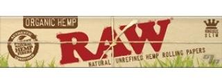 RAW Organic Hemp KS Slim Papers BOX/50
