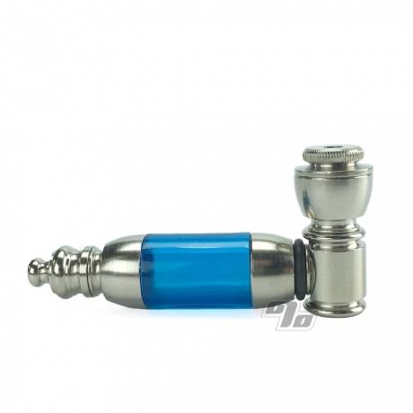 Nickel Acrylic Hand Pipe