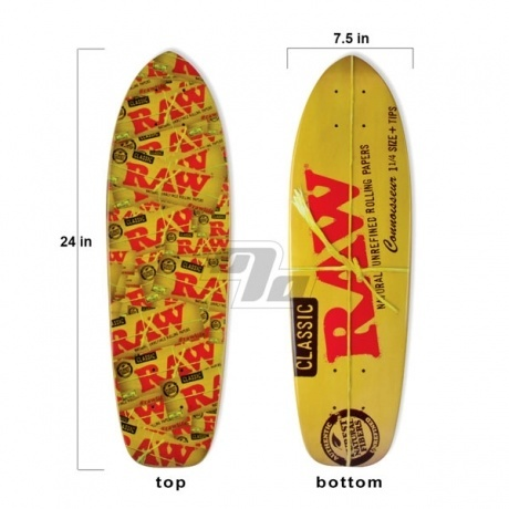 RAWSkateboard. Limited Edition Raw skateboard. Also known as the Mini Rawboard