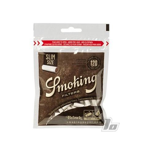 Smoking Brown Slim Bio Filters