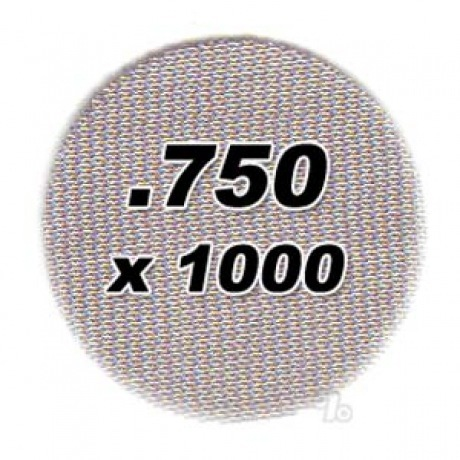 1000 .750 Steel Pipe Screens