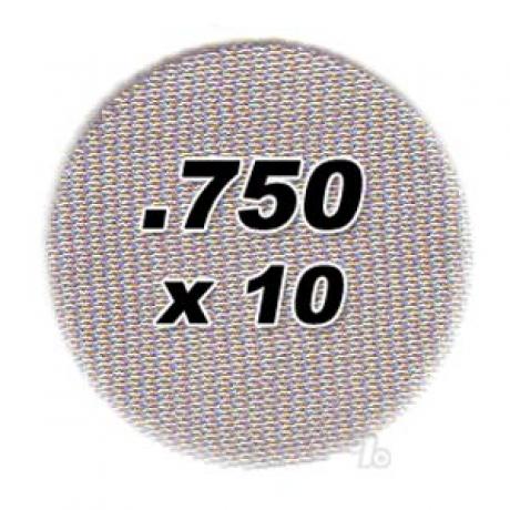 10 pack .750 Steel Pipe Screens