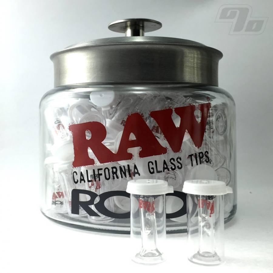 Window Glazing Tips : Raw roor slim glass filter w flat tip percent