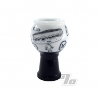 Zach P Sketch Series Glass Dome 14mm