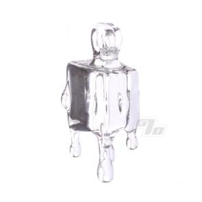 Chaka Clear Ice Cube Pendant