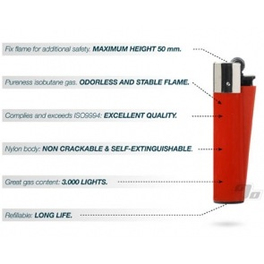 Clipper Lighter Solid Metallic