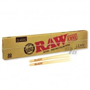 RAW Organic Hemp 1 1/4 Rolling Paper Cones