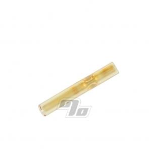 Small Straight Glass Cigarette Bat