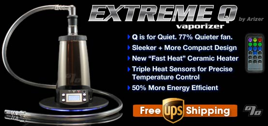 new Extreme Q Vaporizer